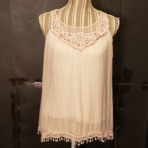 Carla Conti Sleeveless Blouse